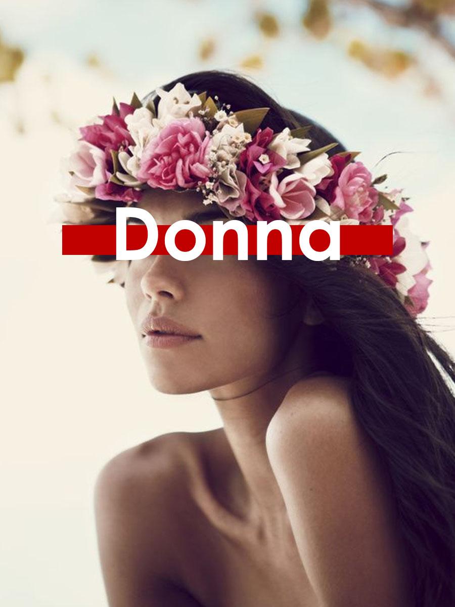 tshirt donna floreale flower power