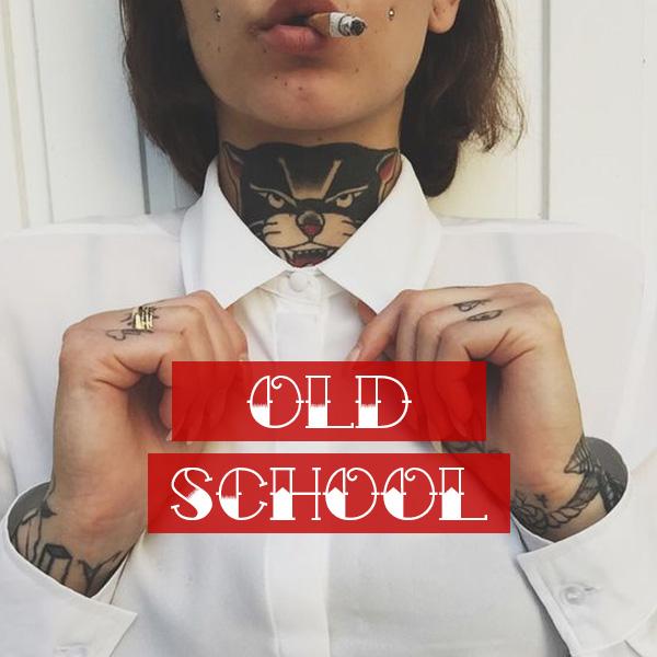 collezione tshirt donna old school