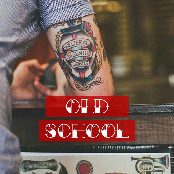 collezione tshirt tatuaggi uomo old school